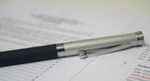 Stift auf Vertrag